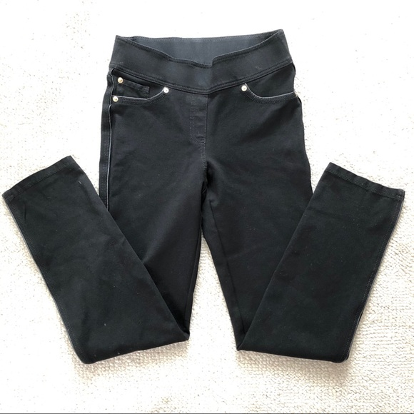 Peter Nygard Pants - Nygard Slims - black yoga jeans size S